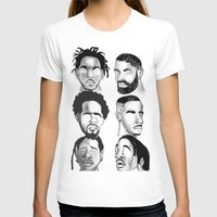 hip hop T-shirts featuring Hip Hop by Tristan
