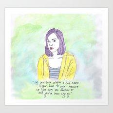 April Ludgate Art Print