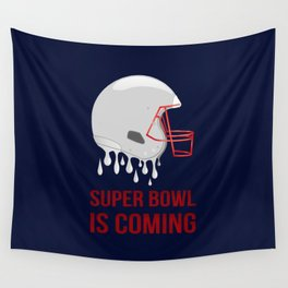 The Super Bowl Countdown Wall Tapestry