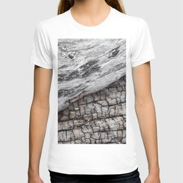 Old Wood - Photography by Fluid Nature T-shirt