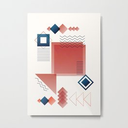 Modern Design 01 Metal Print
