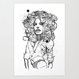 Original Tears Art Print