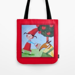 Cappuccetto Rosso -1 Tote Bag