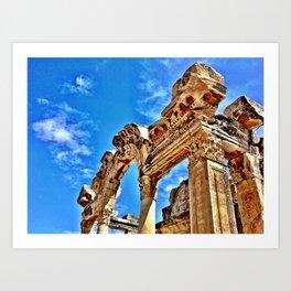 Ephesus Arch Art Print