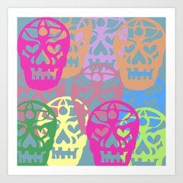 Sweet Calaveras Art Print