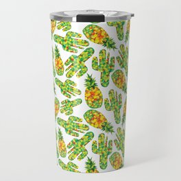 Cactus & Pineapple Travel Mug