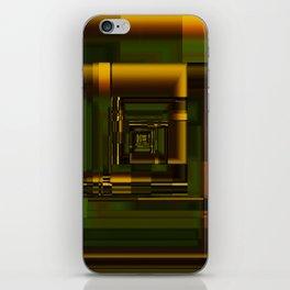Corridors of Gold iPhone Skin