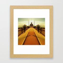 Towards the City of Infinitum Framed Art Print