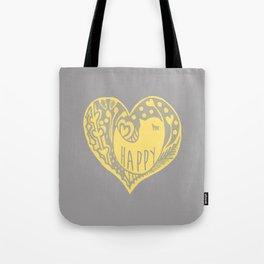 mellow yellow bird Tote Bag