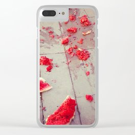 The fall of the Watermelon Clear iPhone Case