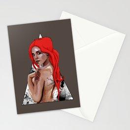 Kraken Girl Stationery Cards