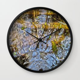 Let Me Think Wall Clock