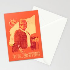 He who will fix it all Stationery Cards
