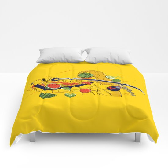 Kill Fruit Comforters