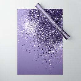 ULTRA VIOLET Glitter Dream #1 #shiny #decor #art #society6 Wrapping Paper