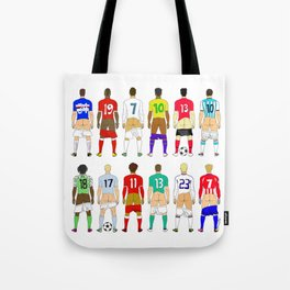 Soccer Butts Tote Bag