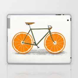 Zest (Orange Wheels) Laptop & iPad Skin