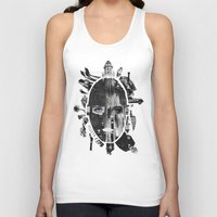 metropolis Tank Tops featuring Metropolis by DLS Design