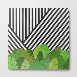Green Direction Metal Print