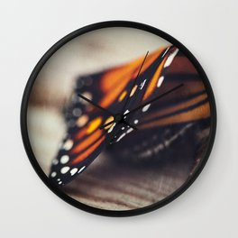 Monarch Study #2 Wall Clock