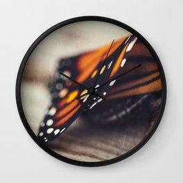 Monarch Study #2 Wall Clock