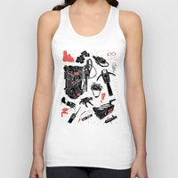 ghostbusters Tank Tops featuring Artifacts: Ghostbusters by Josh Ln