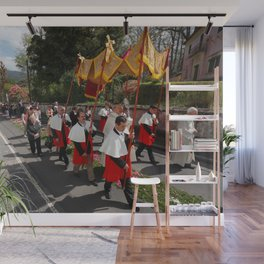 Procession Wall Mural