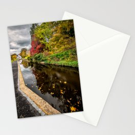 Canal Path Autumn Stationery Cards