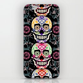 Happy calaveras iPhone Skin