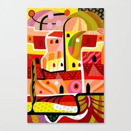 Gore Vidal in Ravello Canvas Print
