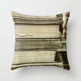 Sepia Stack Throw Pillow