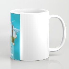 Belgium Map travel poster Coffee Mug
