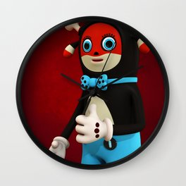 Pattryck van Tryck Wall Clock
