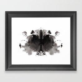 Rorschach test 4 Framed Art Print