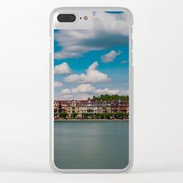 Konstanz and Rhine River Clear iPhone Case