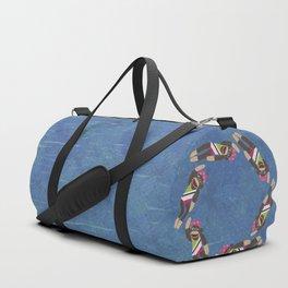 Sock Monkey Water Ballet Duffle Bag