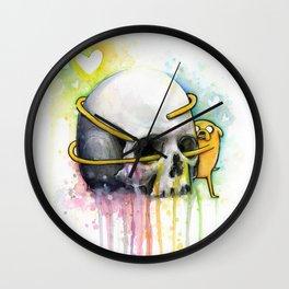 Jake the Dog and Skull Wall Clock