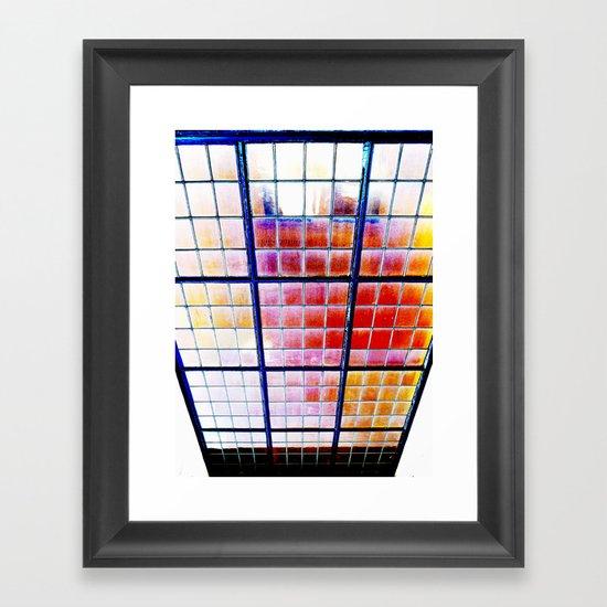 Heaven's Elevator Framed Art Print