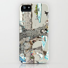Books Coming to Life: Frozen iPhone Case