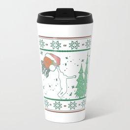 Basketball Christmas Travel Mug