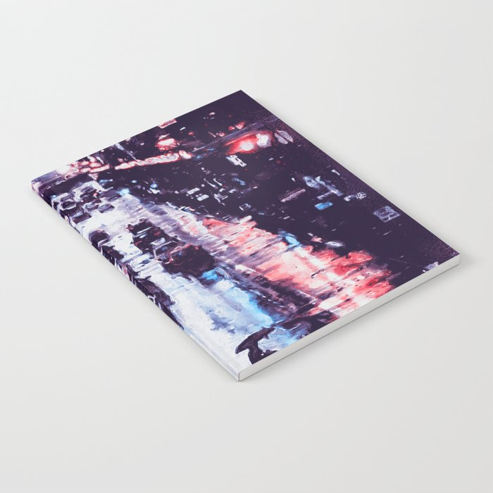 New York at Night Notebook