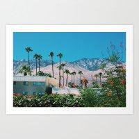 The San Jacinto Mountains No.7 (Palm Springs) Art Print