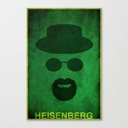 Breaking Bad - Heisenberg Canvas Print