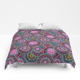 Bright Bohemian Boho Hippy Chic Pattern Comforters