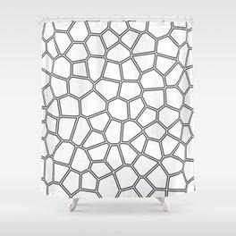 Egg shell pattern Shower Curtain