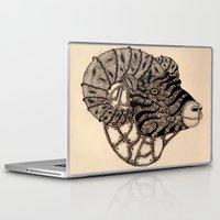 ram Laptop & iPad Skins featuring Ram by justforspiteandmalicedesigns