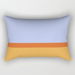 Summer 1973 Color Block Rectangular Pillow