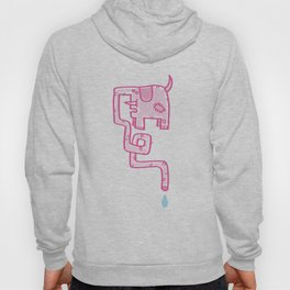 Pink Patch Hoody