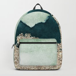 Emerald gold peaks Backpack