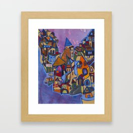 West Coast Framed Art Print